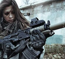 Hot Gun Girls by rodrigochr9