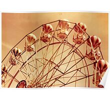 Redscale Ferris Wheel Poster