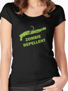 Zombie Repellent Women's Fitted Scoop T-Shirt