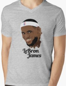 LeBron James  Mens V-Neck T-Shirt