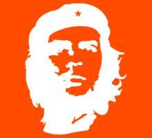 Che, Guevara, Cuba, Peoples Revolution, Freedom, in white by TOM HILL - Designer