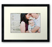 Loving Looks Framed Print