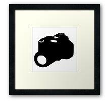 appareil photo camera SLR Framed Print