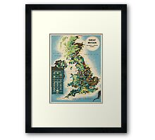 Vintage poster - Great Britain Framed Print