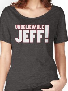 Unbelievable Jeff! Chris Kamara Women's Relaxed Fit T-Shirt