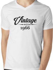 Vintage 1966 Mens V-Neck T-Shirt