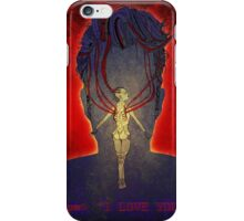 pw: I love you iPhone Case/Skin