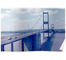 The Severn Bridge from Aust (1970s) Poster