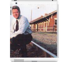 OG thrill bill clinton iPad Case/Skin