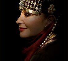 portrait of a gypsy woman by carol brandt