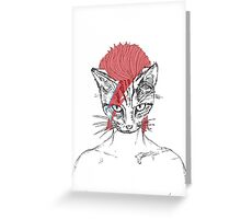 Ziggy_Starcat Greeting Card