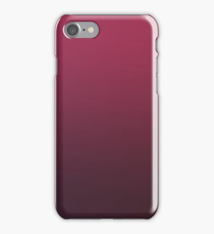 FUTURE SHADOW - Plain Color iPhone Case and Other Prints iPhone Case/Skin