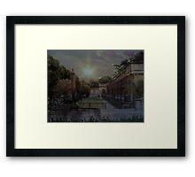 Longwood Gardens at Twilight Framed Print
