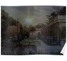 Longwood Gardens at Twilight Poster
