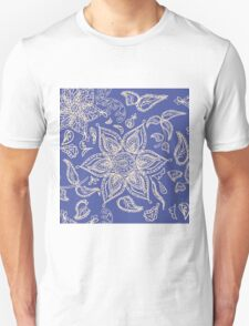 Abstract seamless floral pattern  Unisex T-Shirt