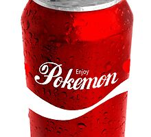 Enjoy Pokemon in a Can by HighDesign