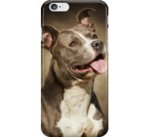 The American Blue Pit-Bull iPhone Case/Skin