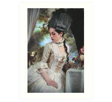 """""""Polonaise"""" Duchesse de Polignac Painting Art Print"""
