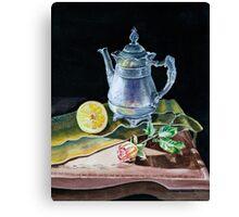 Love, Light, Lemon! Canvas Print