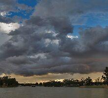 Stormy sky at Morgan by Tim Eckert