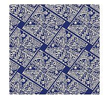 vector abstract seamless pattern by IrinaShi