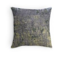growth after the fire Throw Pillow