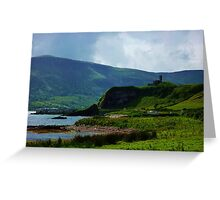 Red Bay Castle Ruins  Greeting Card