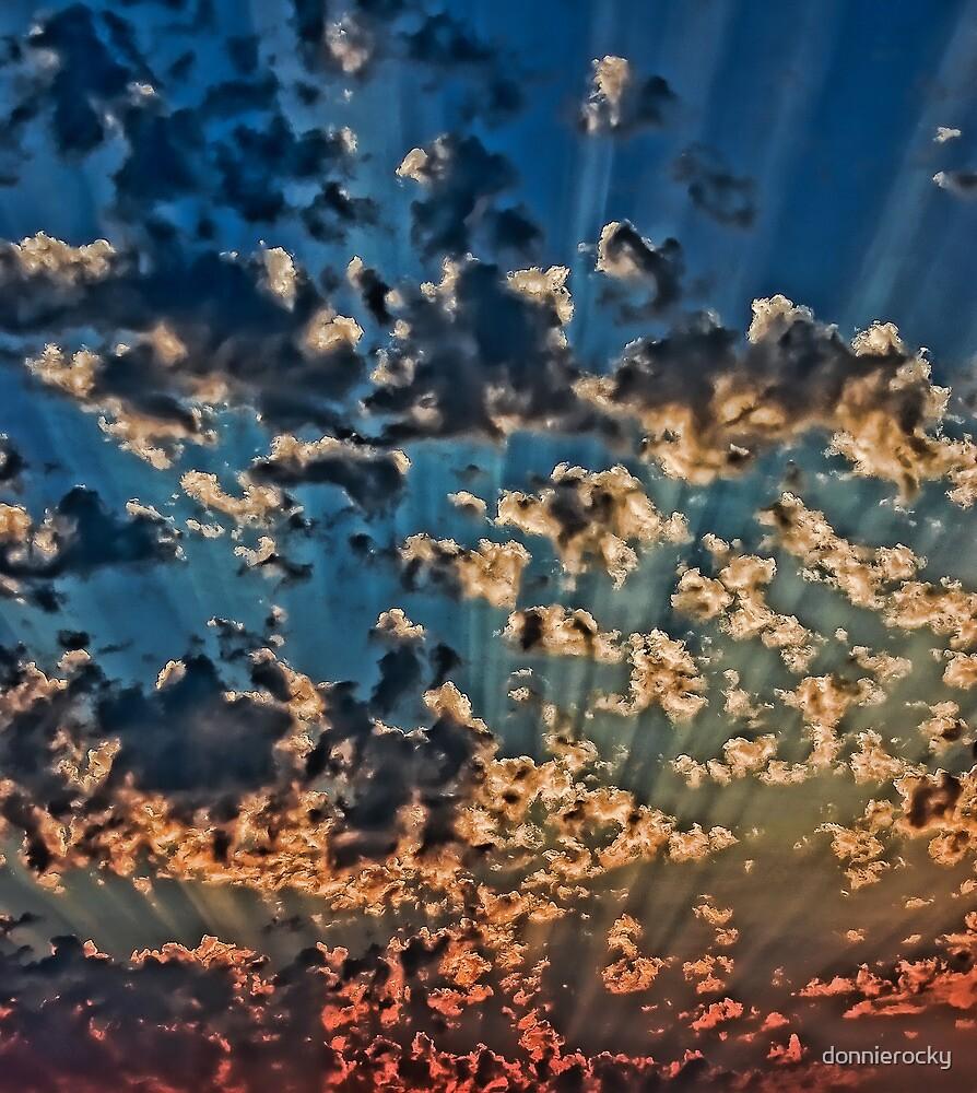 Splendid Sunset by Don Schwartz