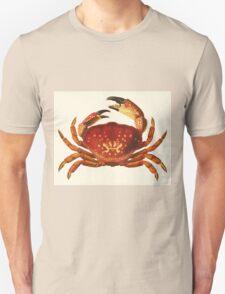 Crab illustration Unisex T-Shirt