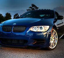 Blue Beemer by aikidawg