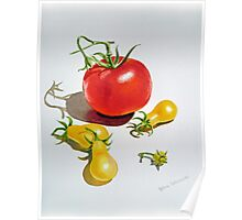Tomatoes Dance Poster