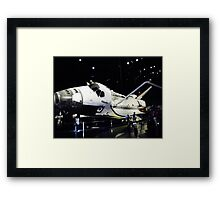 NASA shuttle ATLANTIS Framed Print