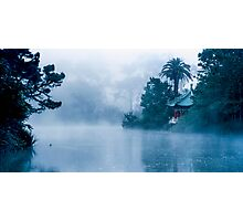 Early morning Fog at Stow Lake Photographic Print