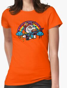 Rainbo: First Blood Womens Fitted T-Shirt