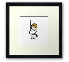 Luke Skywalker – Episode IV – Half Pint Framed Print