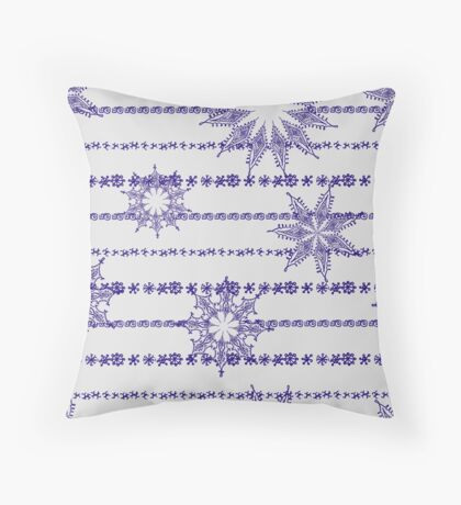 Vector abstract seamless pattern Throw Pillow