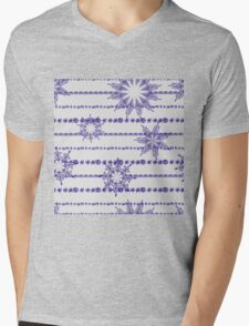 Vector abstract seamless pattern Mens V-Neck T-Shirt