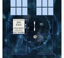 Doctor Who's TARDIS - Galaxy Intro Vortex  by Britt Walker