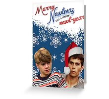 Merry Newtmas Greeting Card Greeting Card