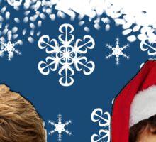 Merry Newtmas Greeting Card Sticker