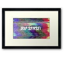 trap sensei Framed Print