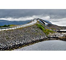 The Highest Bridge on the Atlantic Road, Norway Photographic Print
