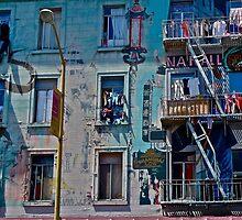 North Beach, San Francisco, California by Scott Johnson