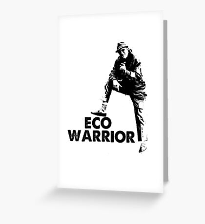 The Fast Show - Dave Angel, Eco Warrior Greeting Card