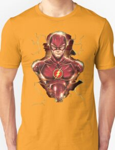 A flashy hero - The flash T-Shirt