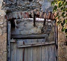 Old door by John (Mike)  Dobson