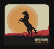 Deep Water Bend | Horses & Cowboys Kids Clothes