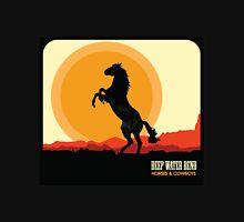Deep Water Bend | Horses & Cowboys Unisex T-Shirt