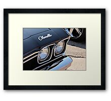 Chevelle Part 2 Framed Print