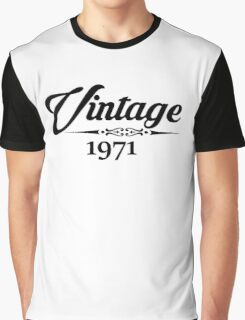 Vintage 1971 Graphic T-Shirt